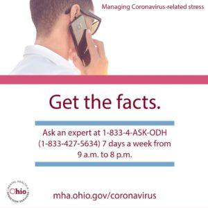 Get the facts on Coronavirus (COVID-19)