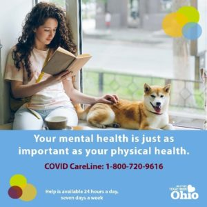 Ohio Launches Toll-Free 'COVID Careline'