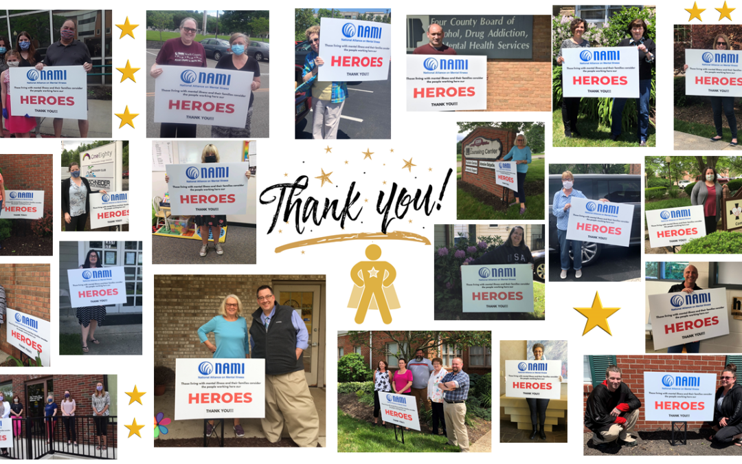 Thanking our Mental Health Heroes!
