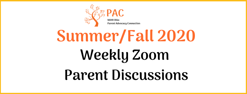 Weekly Parent Zoom Meetings