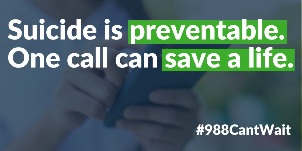 A New Number for Mental Health Emergencies