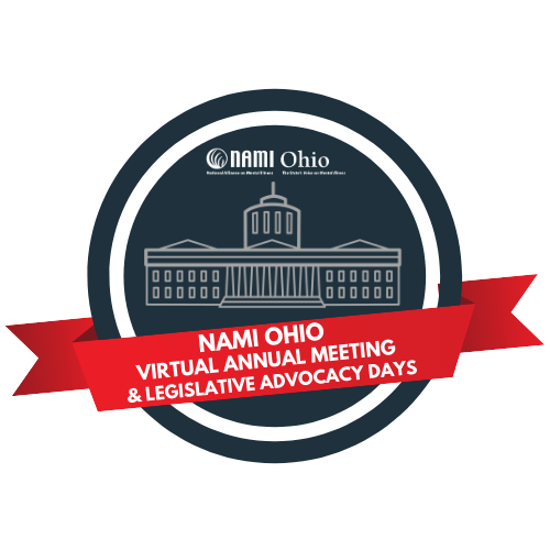 2021 NAMI Ohio Annual Meeting focused on person-centered mental health and stories of lived experience.